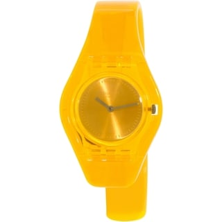 Swatch Women's Originals Orange Plastic Swiss Quartz Watch