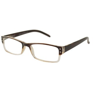 Urbanspecs Readers Square Brown Reading Glasses