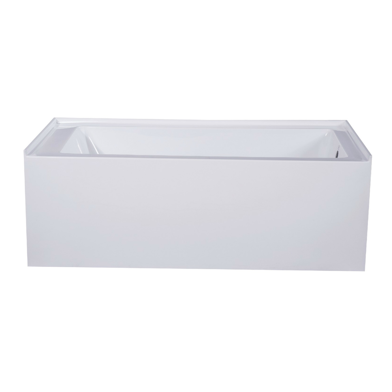 Fine Fixtures Acrylic and Fiberglass 66-inch x 32-inch x ...