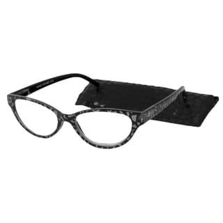 Urbanspecs Readers Cateye Black Reading Glasses