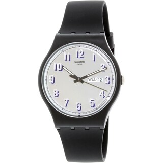 Swatch Women's Originals SUOB718 Black Silicone Swiss Quartz Watch