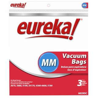 Eureka 60295C-6 Disposable Dust Bags Type MM 3-count