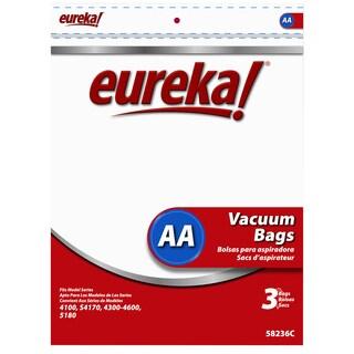 Eureka 58236C-6 Type AA Eureka & Whirlwind Vacuum Bags 3-count