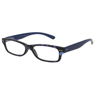 Able Vision Square Blue Tortoise + Blue Reading Glasses