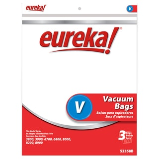 Eureka 52358B-6 Disposable Dust Bags Type V 3-count