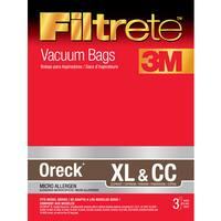 3M 68710-6 Oreck Filtrete XL & CC Vacuum Bag 3-count