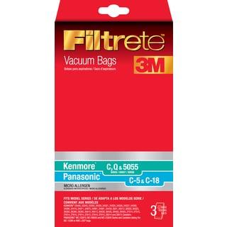 3M 68700A-6 Kenmore & Panasonic Filtrete Vacuum Bags 3-count