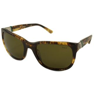 Polo Ralph Lauren PH4066-535173 Square Brown Sunglasses
