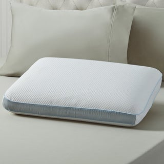 swisslux extreme cooling memory foam performance bed pillow