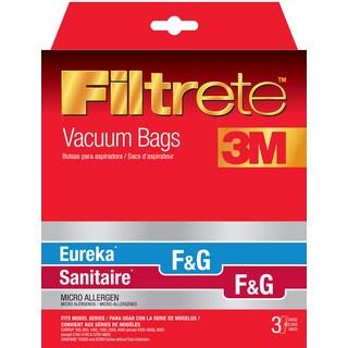 3M 67715A-6 Eureka Size F & G Filtrete Vacuum Bags 3-count