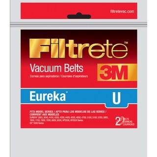 3M 67312A-12 Eureka Filtrete U Vacuum Belt 2-count