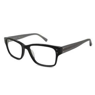 Michael Kors Readers Square Black With Translucent Gray Temples Reading Glasses