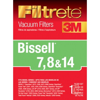 3M 66878A-4 Bissell Filtete Vacuum Filter