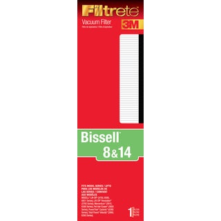 3M 66808A-4 Bissell 8 & 14 Vacuum Filter