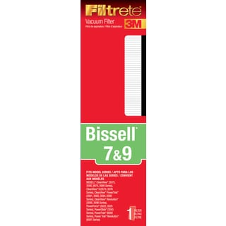 3M 66807A-4 Bissell Filtrete 7, 9 & 16 Vacuum Filter