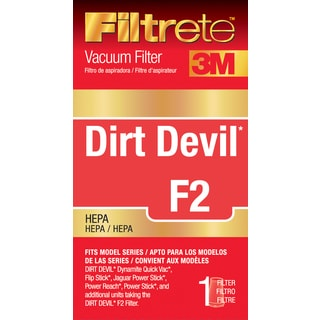 3M 65802A-4 Dirt Devil F2 HEPA Vacuum Filter