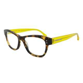 Michael Kors Readers Square Tortoise With Yellow Temples Reading Glasses