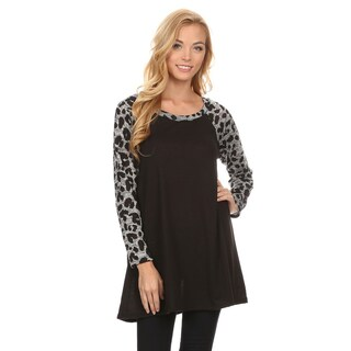 Women's Pattern Sleeve Tunic