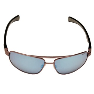 Revo Men's RE 1018 00 BL Wraith Sunglasses with Gun Metal Frames and Blue Water Serilium Lens