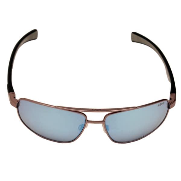 Shop Revo Men\'s RE 1018 00 BL Wraith Sunglasses with Gun Metal ...