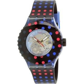 Swatch Women's Originals Multicolored Rubber/Plastic Quartz Watch