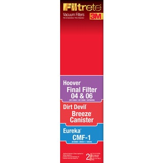 3M 64810-4 Hoover & Eureka Universal Vacuum Filter