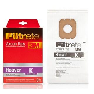3M 64707-6 Hoover Filtrete K Micro Allergen Vacuum Bags 3-count
