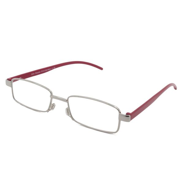 0e79a8e94f Shop Able Vision Square Red Reading Glasses - Free Shipping On Orders Over   45 - Overstock.com - 12484718