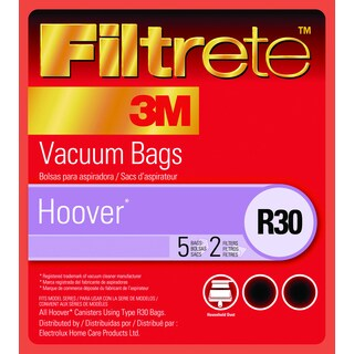 3M 64706B-6 Hoover R30 Filtrete Vacuum Bags 3-count