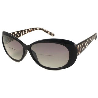 Urbanspecs Readers Cateye Black With Zebra Reading Glasses
