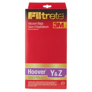 3M 64703B-6 Hoover Y & Z Filtrete Vacuum Bags 2-count