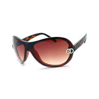 UrbanSpecs 66-DY3028-TRT Aviator Brown Gradient Sunglasses