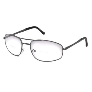 Able Vision Aviator Gunmetal Reading Glasses