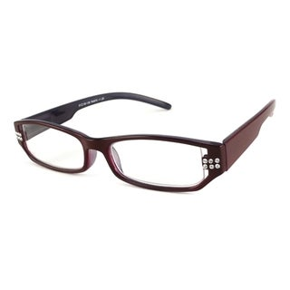 Urbanspecs Readers Burgundy & Purple Reading Glasses