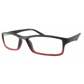 Calabria Readers Square Black Red Fade Reading Glasses