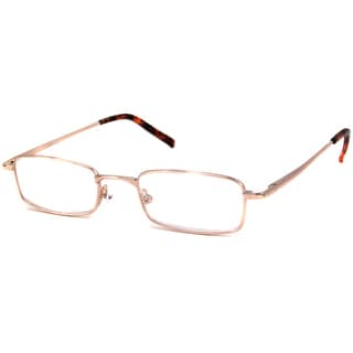 Calabria Readers Shiny Gold Reading Glasses