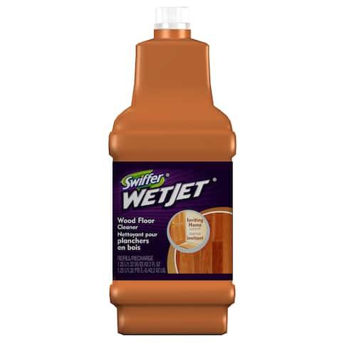 Swiffer 23682 1.25 Liter Swiffer WetJet Wood Floor Cleaning Solution