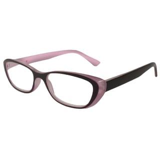 Urbanspecs Readers Cateye Purple Reading Glasses