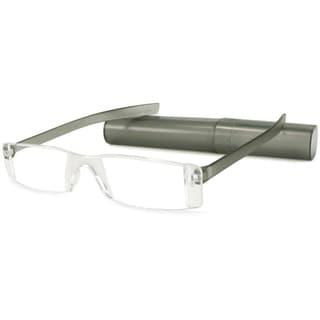 Lucite Readers Matte Grey Reading Glasses