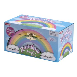 Schylling Rainbow Jewelry Box
