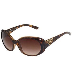 Prada PR27LS-2AU6S1 Square Brown Gradient Sunglasses