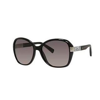 Jimmy Choo Alana/S-0D28 Round Gray Gradient Sunglasses