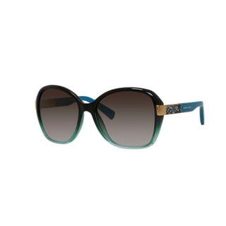 Jimmy Choo Alana/S-0EYX Round Brown Gradient Azure Sunglasses
