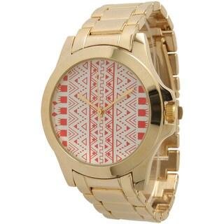 Olivia Pratt Women's Tribal-print Watch