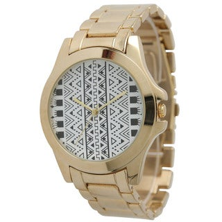 Olivia Pratt Women's Tribal-print Watch