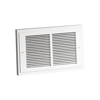 """Broan 124 9-1/4"""" H X 14-1/4"""" W White Grille Wall Heater"""