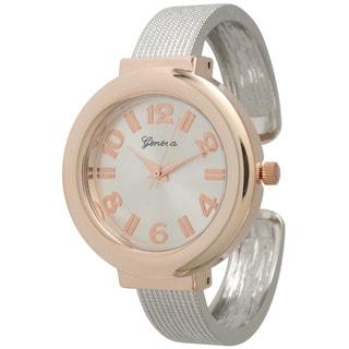 Olivia Pratt Women's Chic Petite Bangle Watch