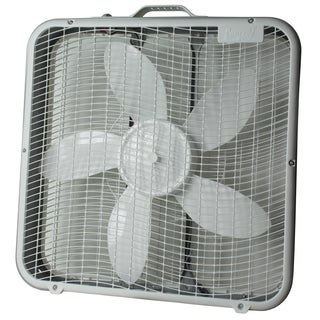 "Comfort Zone CZ200U 20"" Box Fan"
