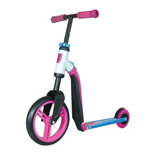 Schylling Unisex Pink and Blue Scoot and Ride Highway Ride-on Toy