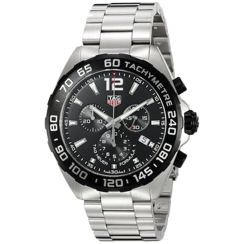 da91f6bb7 Tag Heuer Men's CAZ1010.BA0842 'Formula One' Chronograph Stainless Steel  Watch